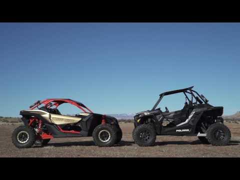 UTV Shootout: 2017 Can-Am Maverick X3 X rs Turbo R vs. 2017 Polaris RZR XP Turbo
