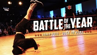 Snap vs Paco | Battle of the year Italy 2015 | Top 8