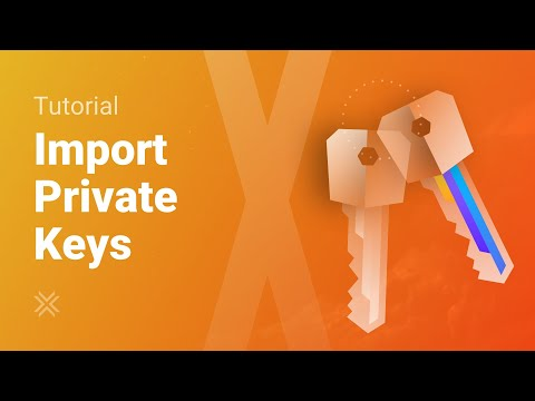 How To Import A Private Key For Bitcoin And Other Cryptos