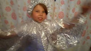 Костюм Снежинки для девочки.