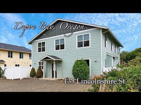 Video of 135 Lincolnshire St | Depoe Bay, Oregon Vacation Rentals and Homes for Rent