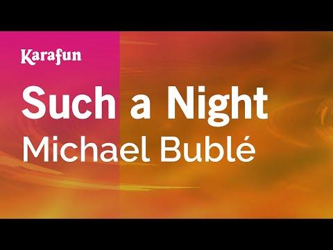 Karaoke Such A Night - Michael Bublé *