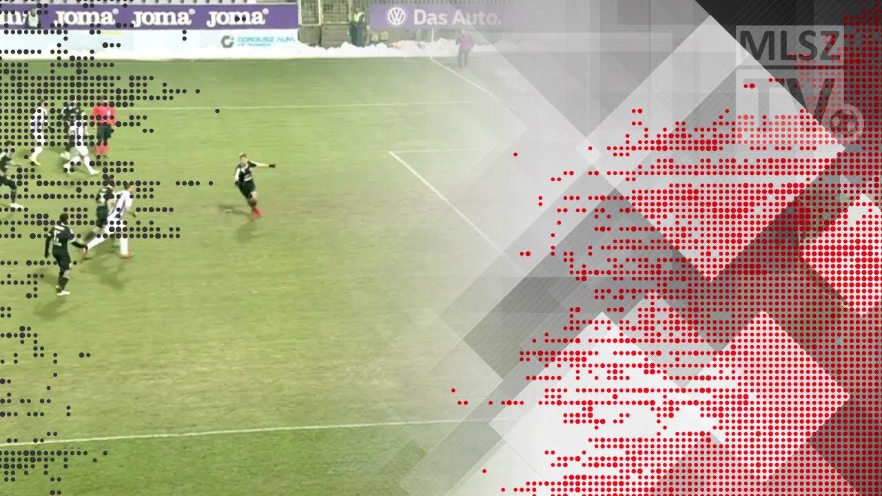 Koszta Márk második gólja az Újpest FC - Mezőkövesd Zsóry FC mérkőzésen