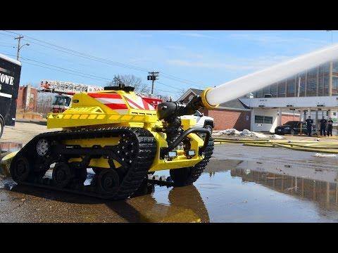 RS2-T1 - robot-strażak
