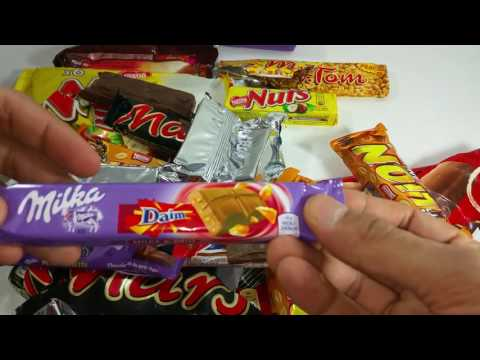 A lot of CANDY BARS Countdown by Candy Land
