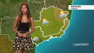 Previsão Sudeste - Frente fria no litoral de SP