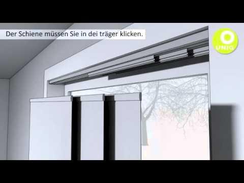 slimline vorhangschienen montage doovi. Black Bedroom Furniture Sets. Home Design Ideas