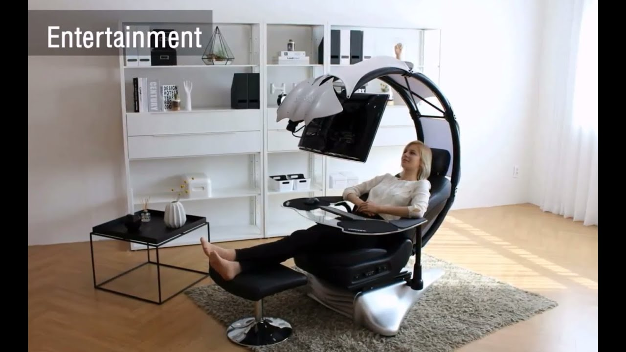 best computer chair how much does it cost to reupholster a recliner droian ergonomic workstation - youtube
