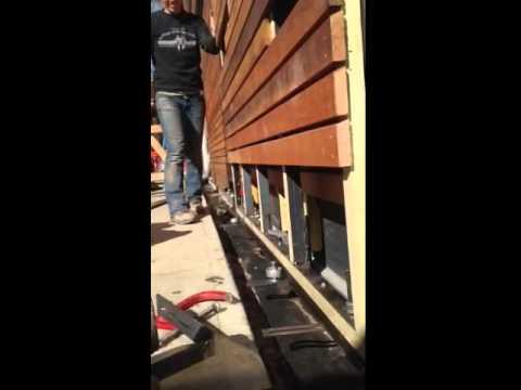 1200 Pennsylvania Sliding Barn Door Mock Up