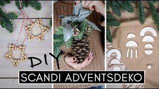 3 DIY Adventsdeko Ideen im Scandi Style - Meine Weihnachtsdeko: schlicht, einfach & stilvoll