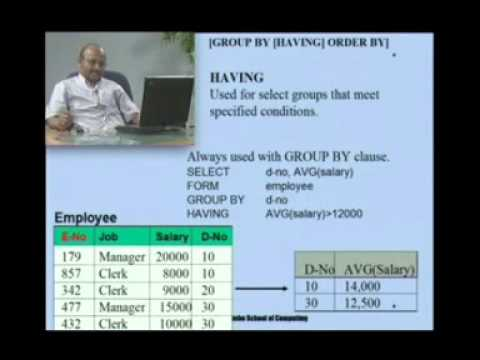 BIT   Database Management System Section 4 Part 4