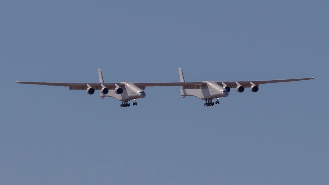 Stratolaunch First Landing!