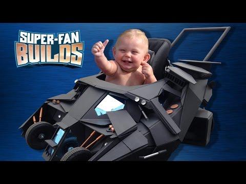 Batmobile Baby Stroller (The Dark Knight) - SUPER-FAN BUILDS