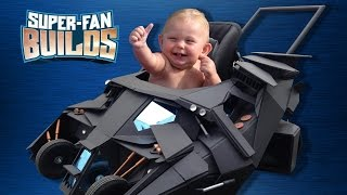 Batmobile Baby Stroller (the Dark Knight) - Super-fan Builds