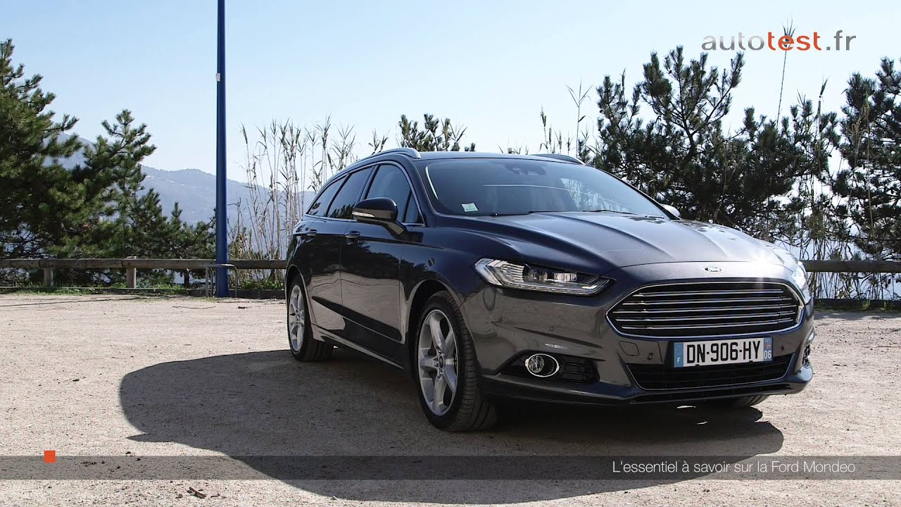 ford mondeo sw 2016 tout savoir en une minute youtube. Black Bedroom Furniture Sets. Home Design Ideas