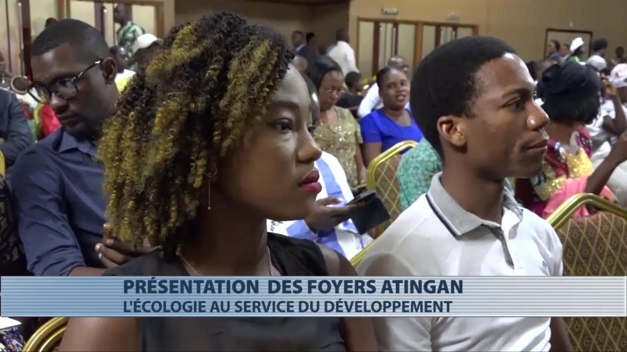 Société : présentation de foyers écologiques Atingan