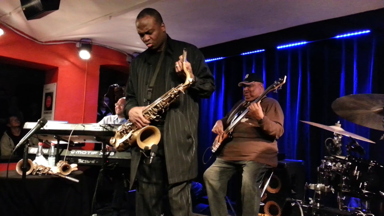 """James Carter's Elektrik Outlet, """"Free As The Wind"""", Dec. 6th, 2017, Jazz Club Hannover (Germany)"""