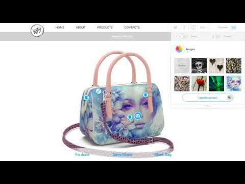3D Handbag Configurator Made With Blend4Web