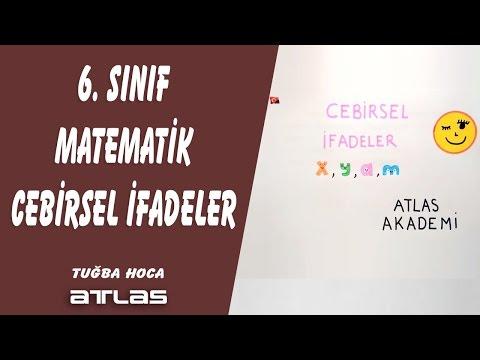 CEBİRSEL İFADELER 6.SINIF MATEMATİK