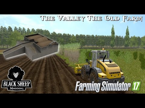 FS17| GAMEPLAY BSM Transport and Strorage WoodChips, create field.