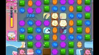 Candy Crush Saga, Level 1544, 1 Star, No Boosters