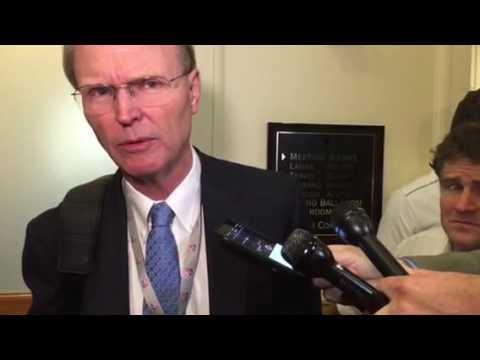 NY Giants Owner John Mara On Mark Davis Oakland Raiders Las Vegas Presentation And Sheldon Adelson