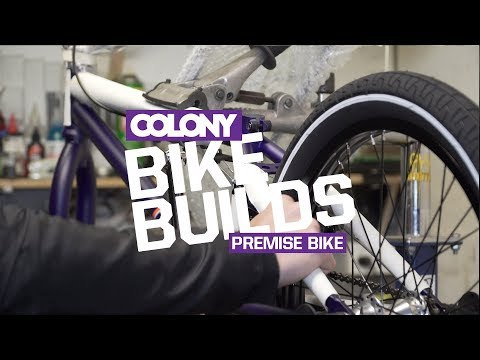 Unboxing & build of a 2018 Colony Premise complete bike in the Matte Dark Purple colourway. Available now across the globe. More info on the Colony Premise can be found here: http://colonybmx.com....
