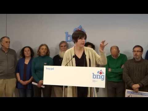 """Ana Pontón:  """"Pararemos a mina de Touro como fixemos con Corcoesto, coa mobilización social"""""""