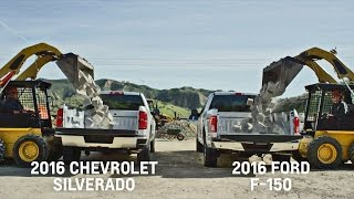 BED TESTS: Chevrolet Silverado vs. Ford F-150 (2016)