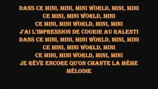 indila mini world LYRICS