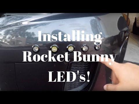 How to install Rocket Bunny LED's on a 2014 Subaru WRX