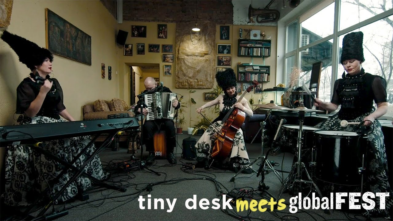 DakhaBrakha: Tiny Desk (Home) Concert
