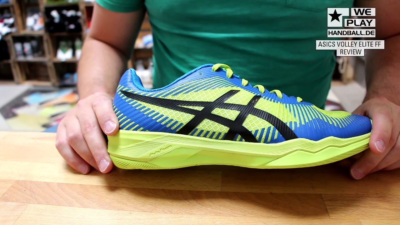 Review Handballschuhe 2017/18: asics VOLLEY ELITTE FF