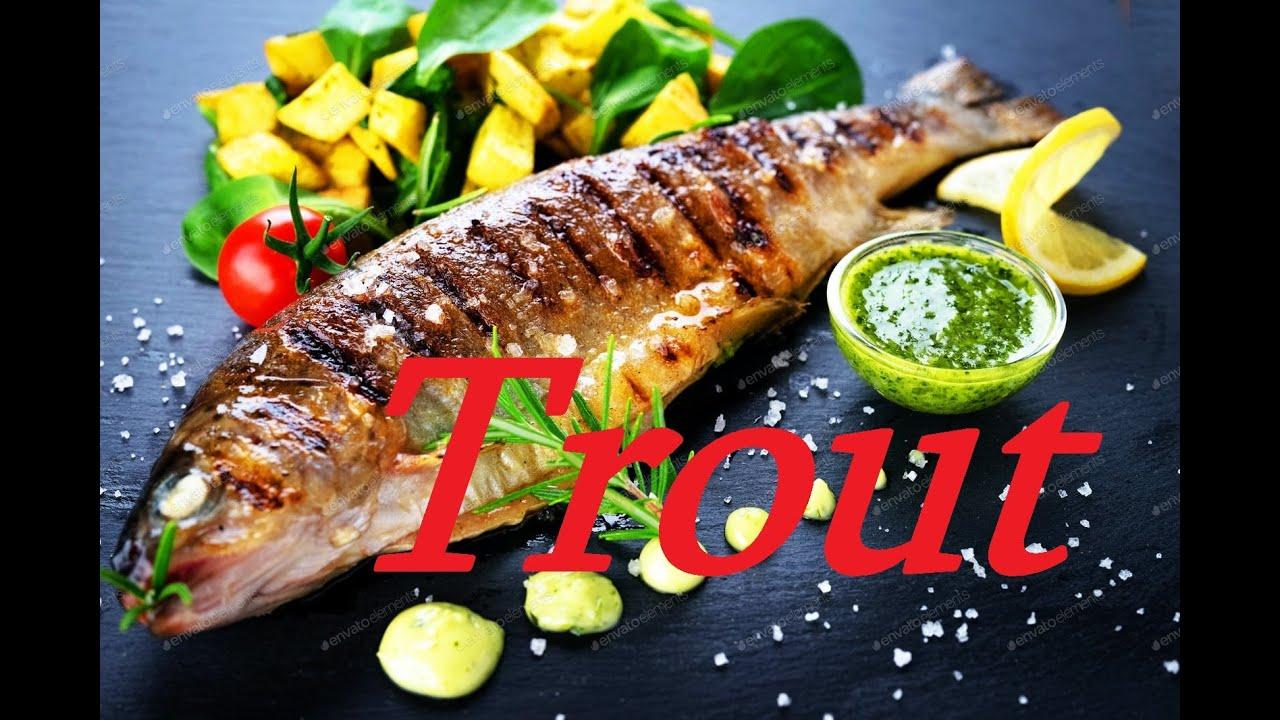 How to Cook Trout on the Grill -კალმახი შამფურზე – Как приготовить форель на гриле