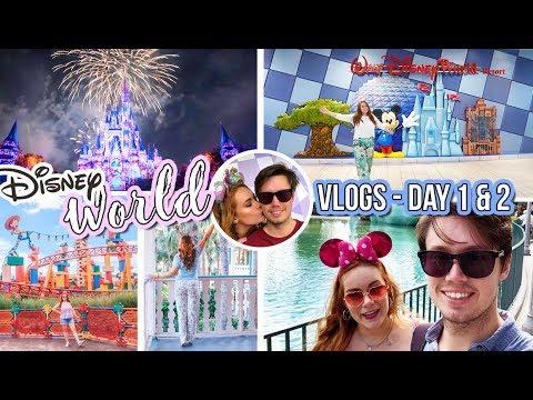 Walt Disney World Vlog 1 -Travel Day & Magic Kingdom