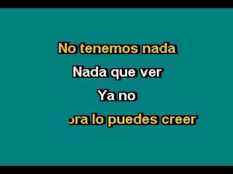 Lucero   Ya No Karaoke