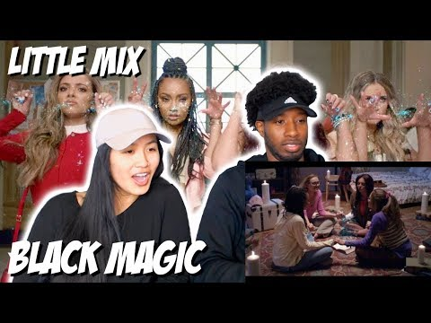 LITTLE MIX - BLACK MAGIC | MUSIC VIDEO REACTION