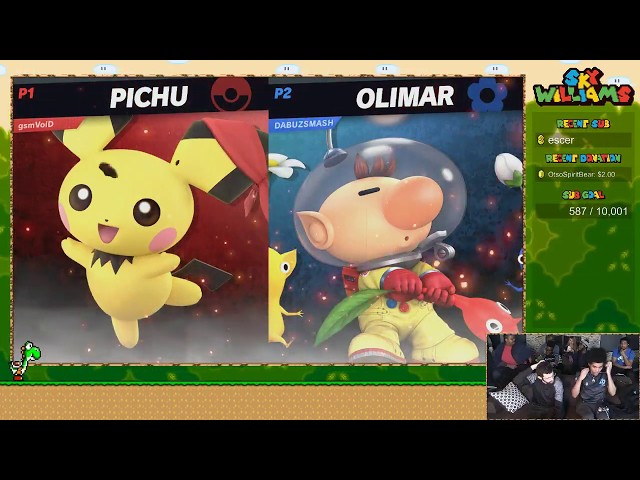 Void (Pichu) vs Dabuz (Olimar) - Skys Smash Ultimate Invitational