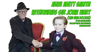 John Hurt EXCLUSIVE interview | The War Doctor | Kane | Quentin Crisp