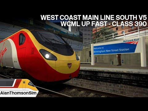 Train Simulator 2018: West Coast Mainline London And The Midlands  V5 Birmingham-Euston