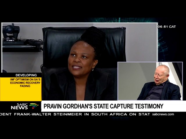 Unpacking Pravin Gordhan's state capture testimony