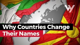 Why Countries Change Their Names (Endonyms vs Exonyms) Video