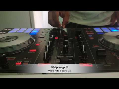 World Fete Riddim Vid Mix - Dj Diego