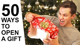 Download 50 Ways to Open a Christmas Gift Mp3 and Videos