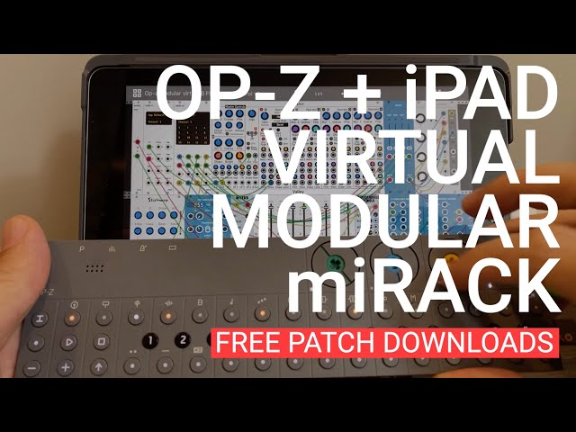 miRack patches to use with the OP-Z