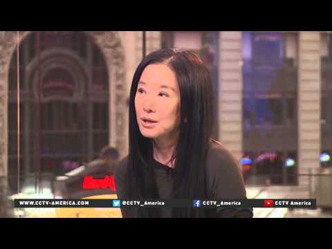 CCTV America interviews designer Vera Wang about running her company