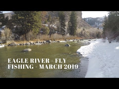 Eagle River Near Eagle-Vail - Fly Fishing - March 2019
