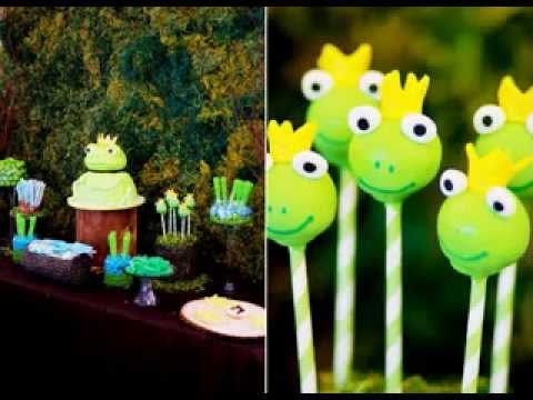Creative Frog Baby Shower Ideas Youtube