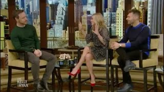James McAvoy interview at Live with Kelly and Ryan | Jan 14, 2019 | GLASS