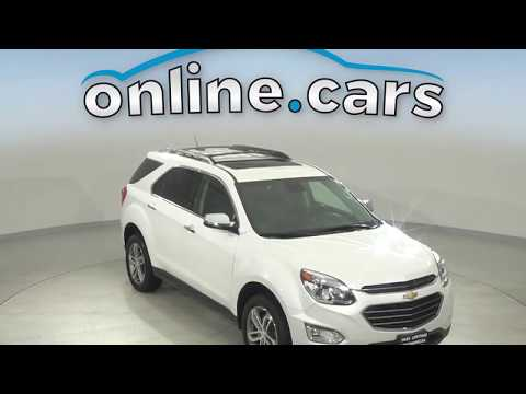 A15119YT Used 2017 Chevrolet Equinox Premier AWD White Test Drive, Review, For Sale